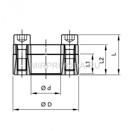 Муфта RCK 45-18X40