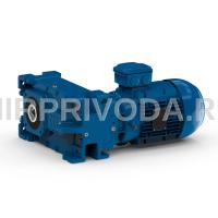 Мотор-редуктор FSA 137C 3C L100L-04F-TH-TF (i=280.556, D100, H10)