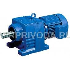 Мотор-редуктор R77-7.74-194-P132-B5-7,5/1500-B3