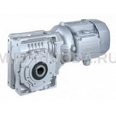 Мотор-редуктор W63 U 19 P90 B5 B3 BN 90LA 4 230/400-50 IP55 CLF W