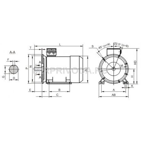 Электродвигатель АИС 80B 4 АИС 80B 4