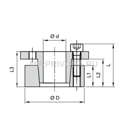 Муфта RCK 16-25X50