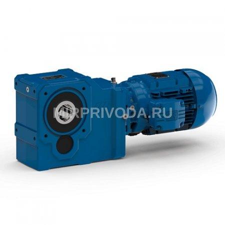 Мотор-редуктор KUA 86A 3B 132M-06F-TH-TF( i=81.14 D60 H30)