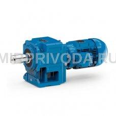 Мотор-редуктор HF 85A 50.18 D60 B5 3B 132S-04E (i=50.18, D60mm, 5.5 kW, s=1.1)