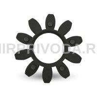Упругий элемент  GET 75-90 (черный)