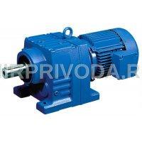 Мотор-редуктор R87-9.9-300-22/3000-B3