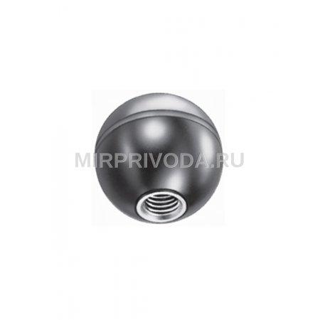 Шарообразная ручка с латунной вставкой PBO/19 M4