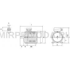 Электродвигатель MGM BA 112 MC4 B3