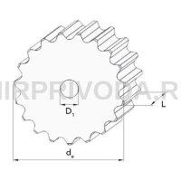 Зубчатое конвейерное колесо Z=31