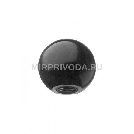 Шарообразная ручка со стальной вставкой SBA/45 M10